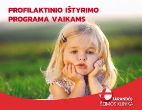 pROFILAKTINIO ISTYRIMO PROGRAMA VAIKAMS